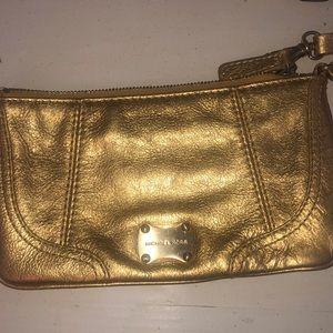 Micheal kors gold wallet